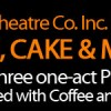Coffee, Cake and Mayhem!
