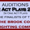 Auditions for One Act Plays 2016